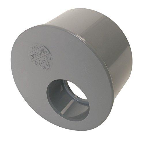 tampon de réduction - mâle / femelle - simple - diamètre 100 / 63 mm - nicoll t6