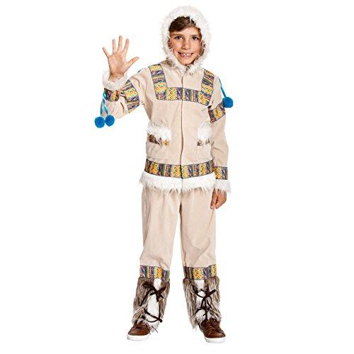 Kostümplanet ® eskimo costume bambini eskimo costume bambini costume taglia 116128140