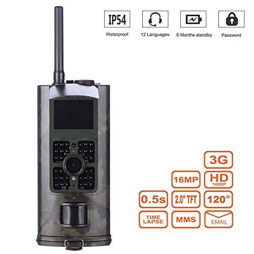 Mengen88 HD Wildlife Camera 3G MMS Waterproof Hunting Cam Trigger Time 0.5s 2.0
