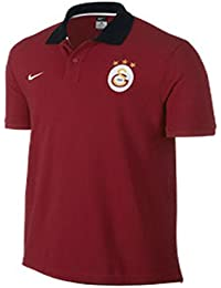 Nike Polo Shirt Gs Authentic Logo - Camiseta / Camisa deportivas para hombre, color rojo / blanco, talla XL