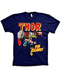 Marvel Comics Officiellement Marchandises sous Licence The Mighty Thor -  for Asgard! T-Shirt 0c60df5d1b8