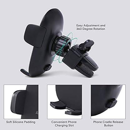 AUKEY-Handyhalterung-Auto-Armaturenbrett-Kfz-Handyhalter-fr-iPhone-7-Plus-76-Samsung-Note-8-S8-Echo-Dot-usw-Schwarz