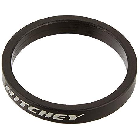 Ritchey 33 243 031 Espaciador para bicicletas bicicleta de carreras color negro mate