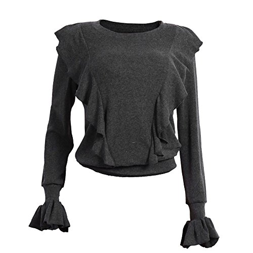 Auifor Trumps Star Wars Glitzer schwarz bauchfrei Enge Secret Damen 12 77 176 lang top Tops for Women Neckholder Damen überkreuz Baumwolle Planet Agents Secret Neue Generation Hits ke Roboter