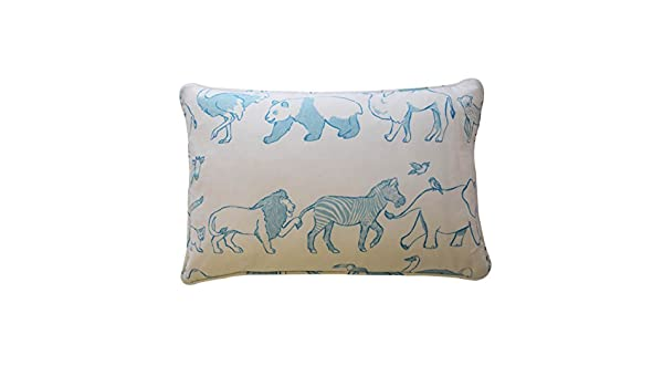 Waverly Kids 16481012x018blu Buon Viaggio 12 Inch By 18 Inch Decorative Accessory Pillow Blue Amazon In Home Kitchen