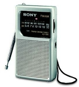 Sony ICF-S10MK2/S Tragbares Radio silber