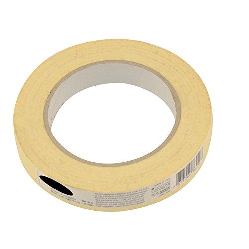 60x Feinkrepp 19mm x 50m Malerkrepp Klebeband Kreppband Krepp Abdeckband Malerband