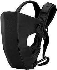 Chhote Saheb Assured Baby Carrier Baby Cuddler (Black) Baby Carrier(Black, Back Carry)