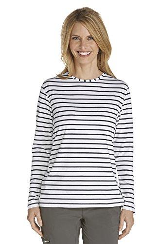 a62723b985d Coolibar UPF 50+ Women's Long Sleeve T-Shirt - UV Sun Protective,01262