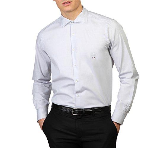 Royal Polo Herren Newton Hemd, langärmlig Weiß