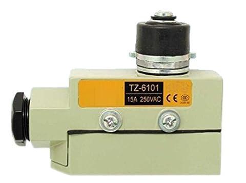 Woljay Heavy Duty Tür Micro Türschalter Micro Endschalter Roller Plunger SPDT TZ-6101 CE