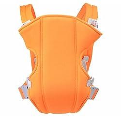 Mochila para bebé LifenewBaby, con bolsa extraíble, para el asiento del niño naranja naranja