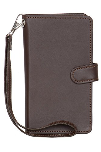 Lava Iris Fuel 60 - Handmade Flip Wallet Leather Pouch Cover Comfortable & Stylish (Be Unique Buy Unique) Buy it Now By Senzoni  available at amazon for Rs.279
