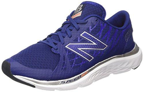 New Balance M690rn4, Chaussures de Running Compétition homme Bleu - Blue (Blue/White)