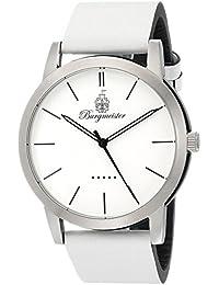 Burgmeister Armbanduhr für Herren mit Analog-Anzeige, Quarz-Uhr und Lederarmband - Wasserdichte Herrenuhr mit zeitlosem, schickem Design - klassische Uhr für Männer - BM523-186-1  Ibiza