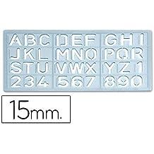CSP 1585 - Plantilla rotulación letras y números ...