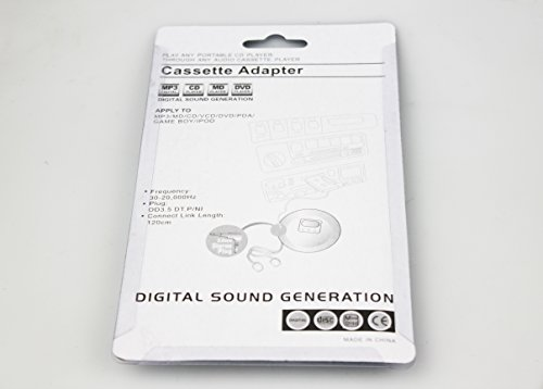 Car Tape Cassette Adapter Car Cassette Adapter for Smartphones, MP3