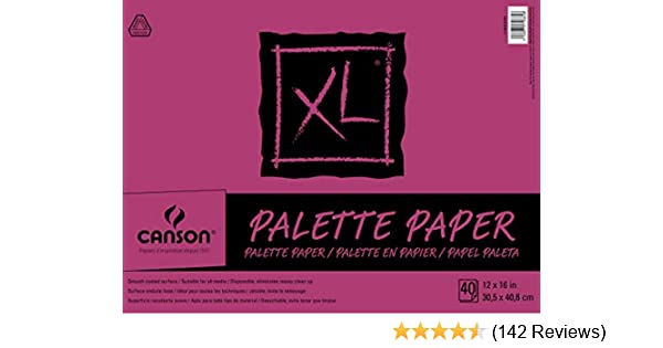 9X12 Canson Foundation Einweg Palette Pad