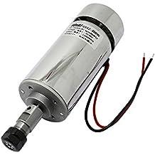 300W 3000~ 12000r Motor de husillo 12V-48V de grabado cortador marcador CNC