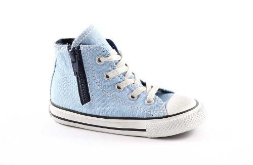 CONVERSE 743766C navy ct zip scarpe bambino all star mid cerniera Blu