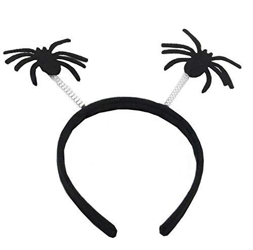 Wangc Persönlichkeitsgeschenk Halloween Stirnband Kinder Kopfschmuck Kind Haarband Geist Kürbis Festival Geschenk Kinder Party Decor Prop (Farbe : Spider)