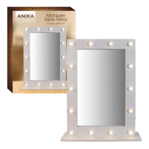 Anika-Battery-Operated-Free-Standing-LED-Marquee-Mirror-Warm-White