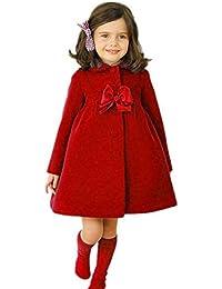 Chaqueta bebé niña, Amlaiworld Bebé niñas otoño invierno manto abrigo chaqueta Ropa de abrigo 24 Mes - 6 Años