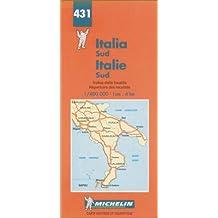 Carte routière : Italie Sud, N° 431