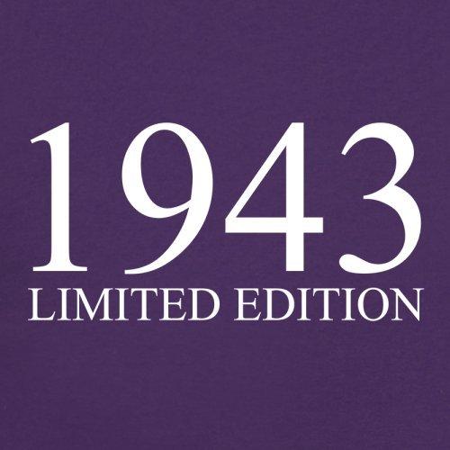 1943 Limierte Auflage / Limited Edition - 74. Geburtstag - Damen T-Shirt - 14 Farben Lila