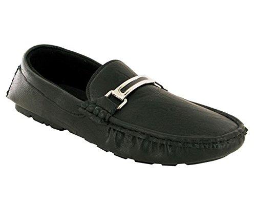 London Footwear - Sandali con Zeppa uomo Black