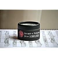Caja de música * No soy una princesa, soy una Khaleesi *.El regalo perfecto para los fans de la serie Juego de Tronos. Manivela de música manual. Game of Thrones