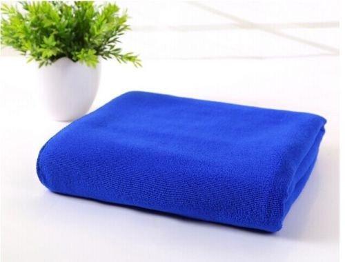 triecoworld Towel Extra Groß XL, Quick Dry, saugfähig, leicht, kompakt für Sport, Fitnessstudio, Schwimmen, Reise, Strand, Camping, Bad, Yoga und Pilates, marineblau