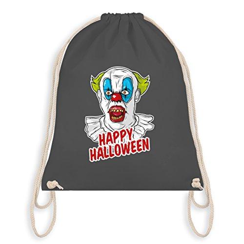 Halloween - Happy Halloween - Clown - Unisize - Dunkelgrau - WM110 - Turnbeutel & Gym Bag