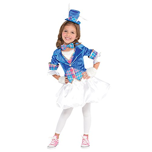 Wunderliche Märzhasin Alice im Wunderland Kaninchen Kostüm Kinder Mädchen Amscan (Alice Im Wunderland Kaninchen Kostüm Kind)