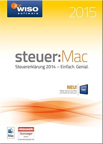 WISO steuer:Mac 2015 - Steuererklärung 2014 [Download] (Tipp Deckt)