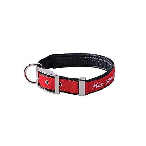 FC Bayern Hundehalsband schwarz/rot Größe 55 cm (Katze Halsbänder Für Männer)