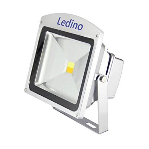Ledino LED-Strahler, Helligkeit u. weiße Lichtfarbe m. Fernbedienung einstellbar