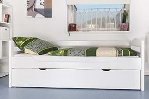 bett ausziehbar easy premium line k1 h s inkl 2 liegeplatz und 2 abdeckblenden 90 x 200 cm. Black Bedroom Furniture Sets. Home Design Ideas