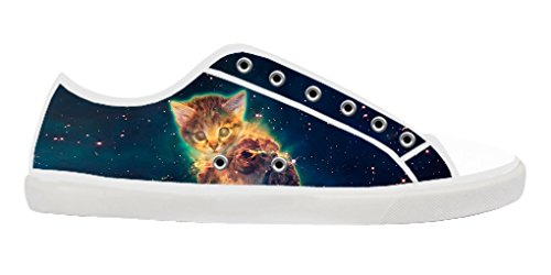 Dalliy Galaxie Katze Galaxy Cat Men's Canvas shoes Schuhe Footwear Sneakers shoes Schuhe B