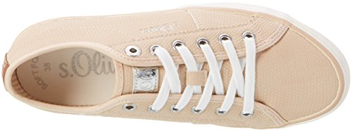 s.Oliver Damen 23640 Sneakers Pink (ROSE 544)