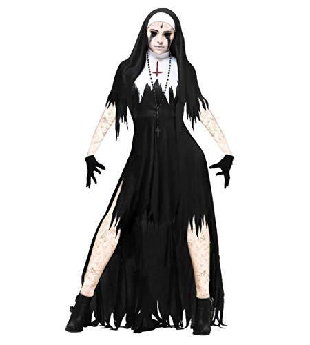 Tdhappy Halloween Rollenspiele Erwachsenen - Horror Blutig Zombies Kostüme Vampir - Braut Krankenschwestern Nonnen Maskerade Parteien,89334,L (Halloween Zombie Geist Krankenschwester)