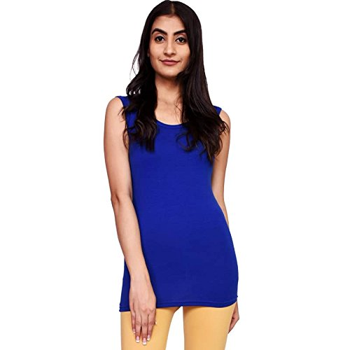 VOEUX INDIA Women's Tank Top-Free Size-Dark Blue