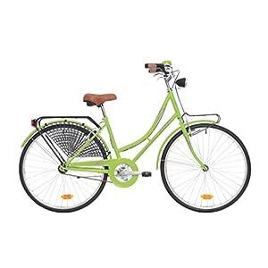 """Atala Bicicletta citybike Unisex College, 26"""", Misura 43, Taglia Unica, Colore Verde"""