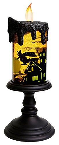 Give U Halloween-Deko Hexen LED-Licht,elektrische Kerzen Flamme