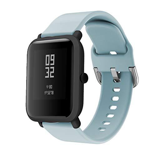 DIPOLA Correas Reloj Repuesto Silicona Xiaomi Huami