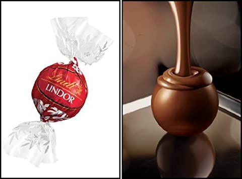 50 x Lindt Lindor Milk Chocolate Truffles - Wedding favors by Lindt