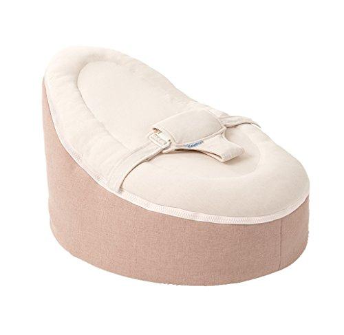 Gorgeous Superweicher Luxuriöser Doomoo Multi Funktionelle Sitzsack Baby Sitz Home–Pink–Geeignet für Neugeborene