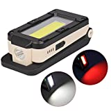 Lampada Portatile A 4 modalità COB + Xpe Torcia Ricaricabile USB Lampada da Lavoro A LED Lampada A Sospensione A Sospensione A Lanterna Magnetica per Campeggio All'aperto