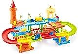 Webby Educational Kids Building Block Train(Multicolour) - Set of 45