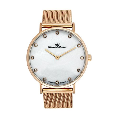 Reloj Yonger & Bresson Mujer Nácar blanca–DMP 079/BM